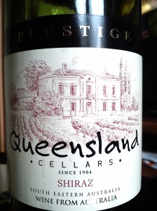 Queensland Cellars South Eastern Australia Shiraz 2012