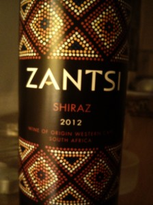 ZANTSI Shiraz 2012 Darling Cellars Western Cape South Africa