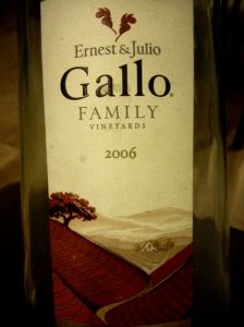 Ernest & Julio Gallo Family Vineyards 2006 Sauvignon Blanc