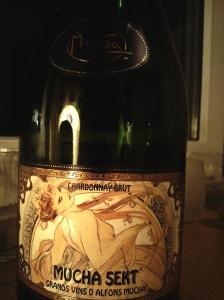 Mucha Exclusive Sekt Chardonnay Brut