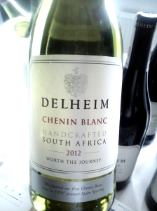 Delheim Chenin Blanc Stellenbosch 2012