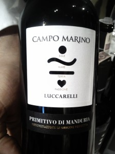 Campo Marino Primitivo di Manduria 2012 DOC