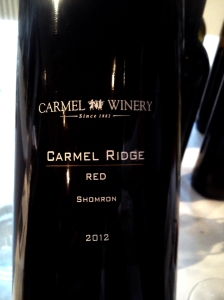Carmel Ridge Red Shomron 2006