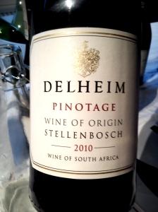 Delheim Pinotage Stellenbosch 2009
