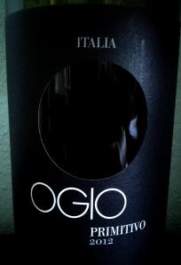 OGIO Primitivo 2012 Puglia IGT