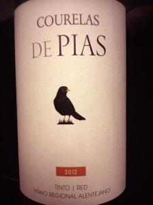 Courelas de Pias 2012 Vinho Regional Alentejano