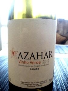 Azahar Vinho Verde DOC 2012