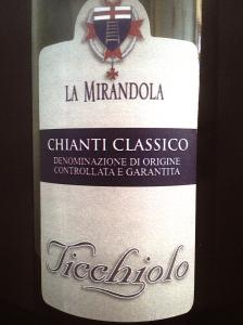 La Mirandola Ticchiolo Chianti Classico DOCG 2011