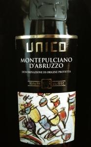Tenuta Ulisse Unico Montepulciano d'Abruzzo DOP 2011