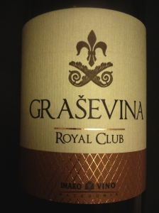 Graševina Royal Club 2013