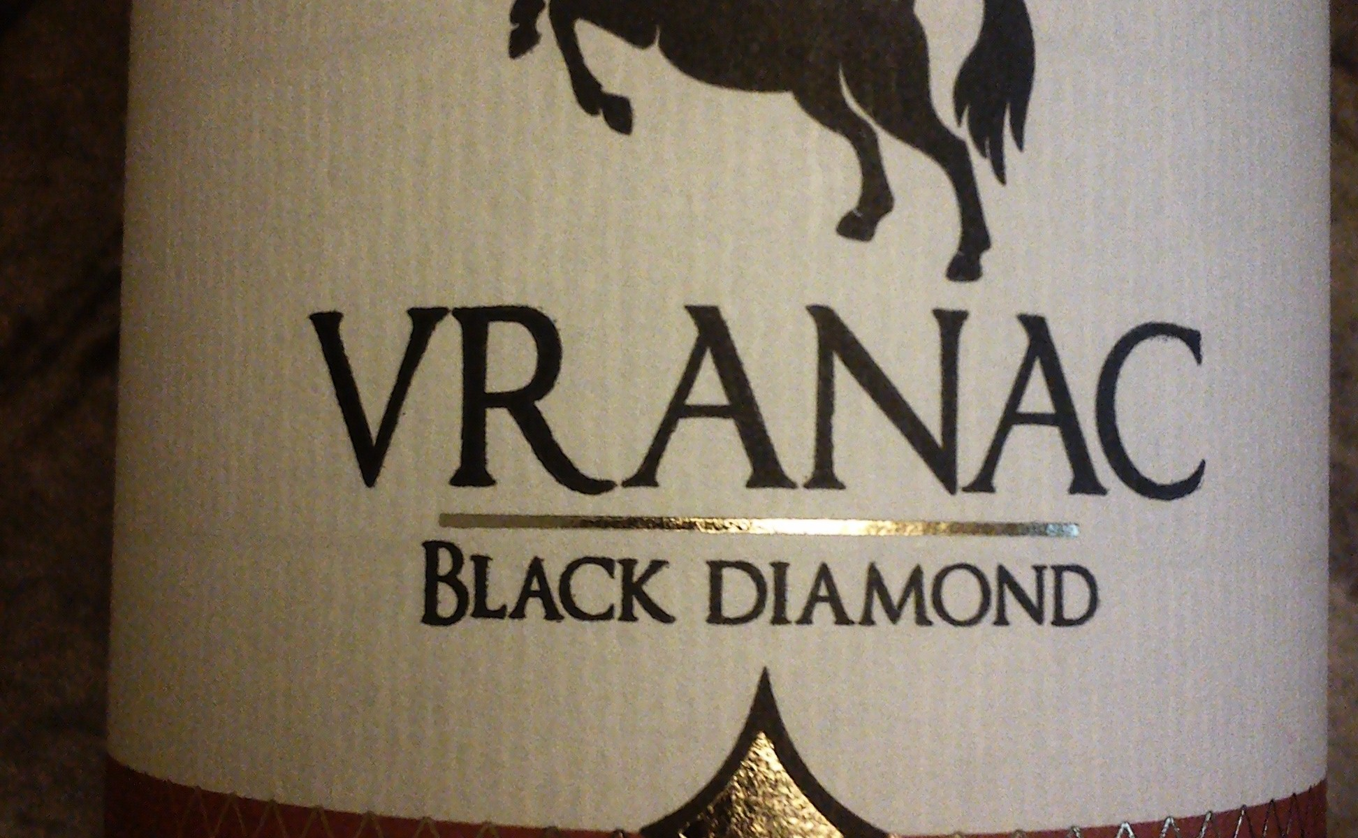 Vranac Black Diamond 2012