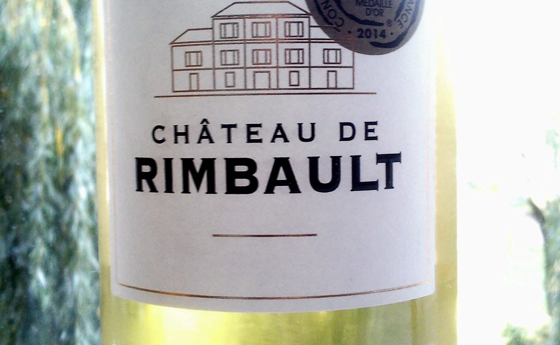 Château de Rimbault Muscat de Frontignan