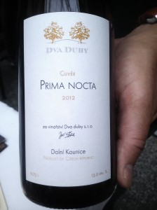 Dva Duby Prima Nocta 2012