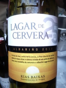 Lagar de Cervera Albariño Rías Baixas 2013