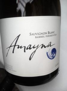 Amayna Sauvignon Blanc Barrel Fermented Leyda 2009