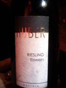 Weingut Markus Huber Riesling Eiswein 2013