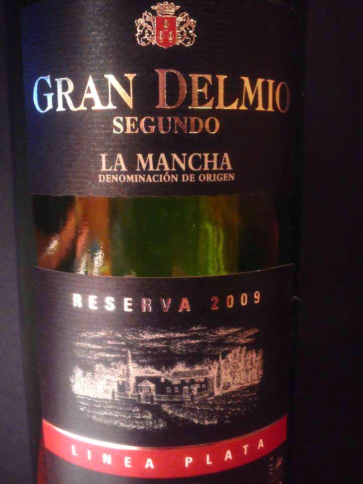 Gran Delmio Segundo Reserva La Mancha D.O. 2009