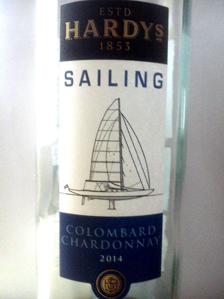 Hardy's Sailing Colombard Chardonnay 2014