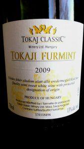 Tokaji Furmint Tokaji Classic 2009