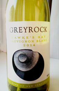 Hawke's Bay Greyrock Sauvignon Blanc 2014
