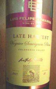 Louis Felipe Edwards Viognier Sauvignon Blanc Colchagua Valley 2013