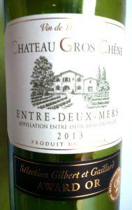 Chateau Gros Chêne Entre-Deux-Mers 2013