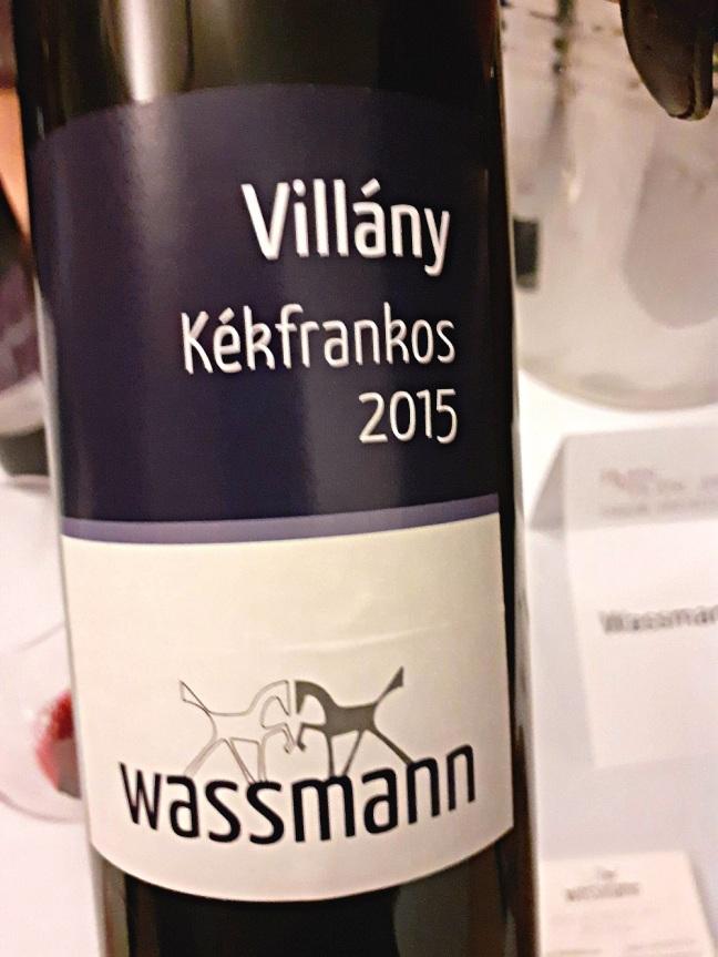 Wassmann, Villány Kekfrankos 2015