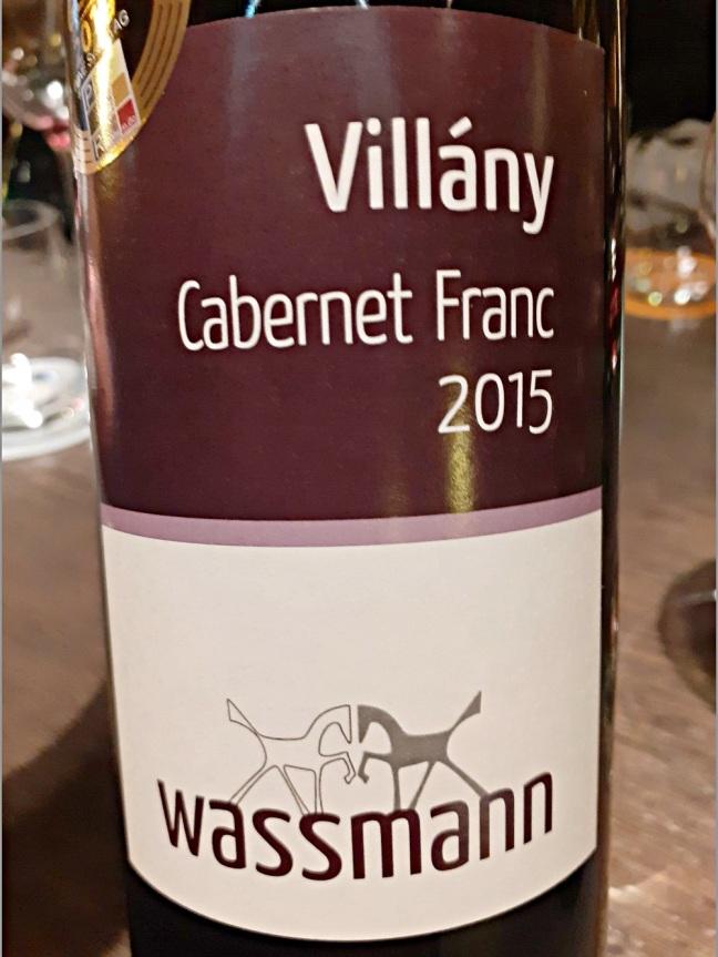 Wassmann, Villány Cabernet Franc 2015
