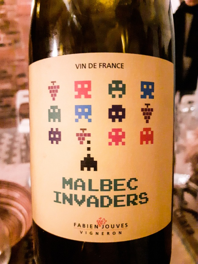 Fabien Jouves Malbec Invaders 2017