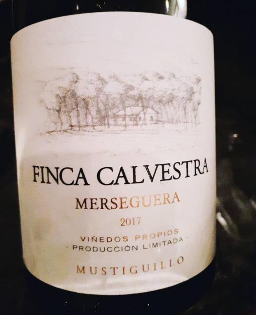 Bodega Mustiguillo Finca Calvestra Merseguera 2017