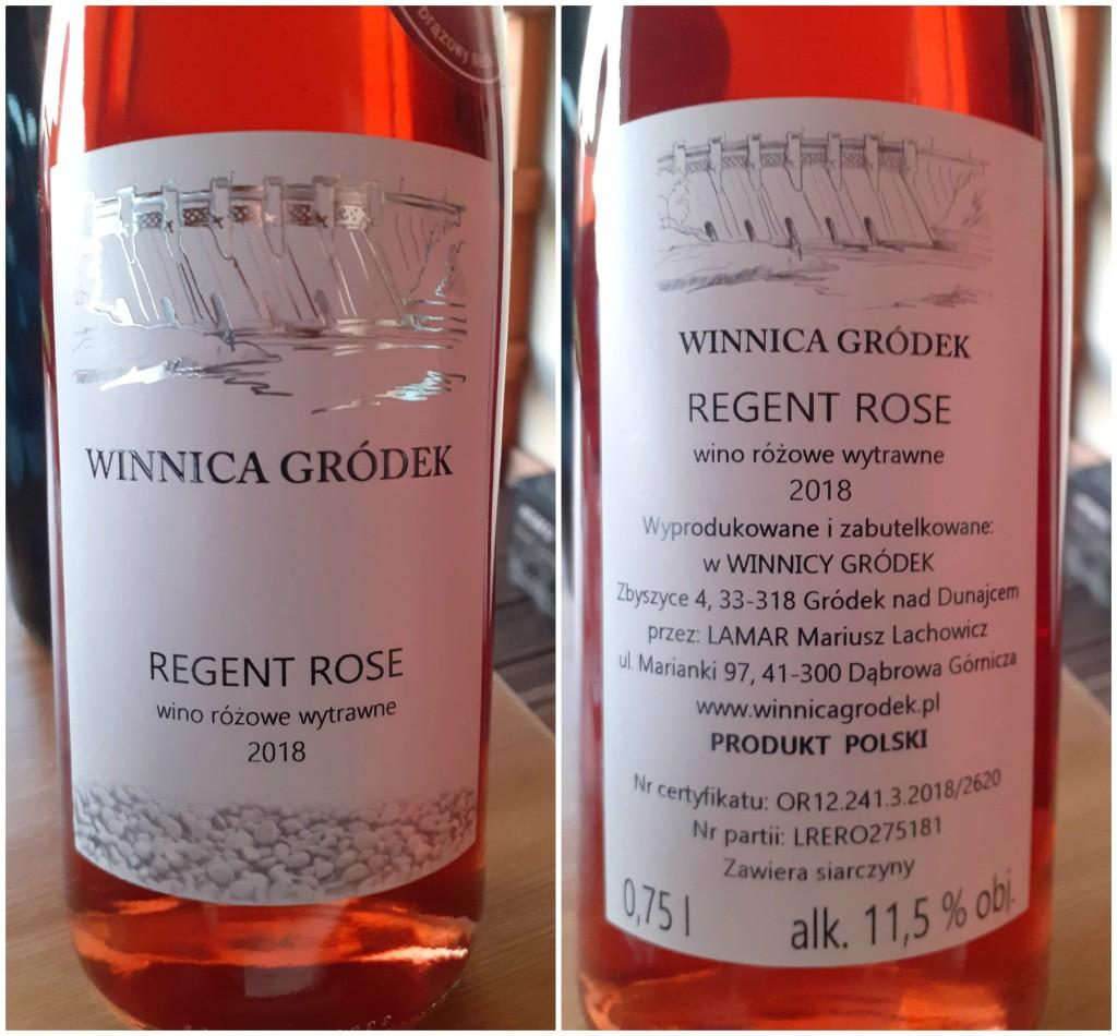 winnica gródek regent rose