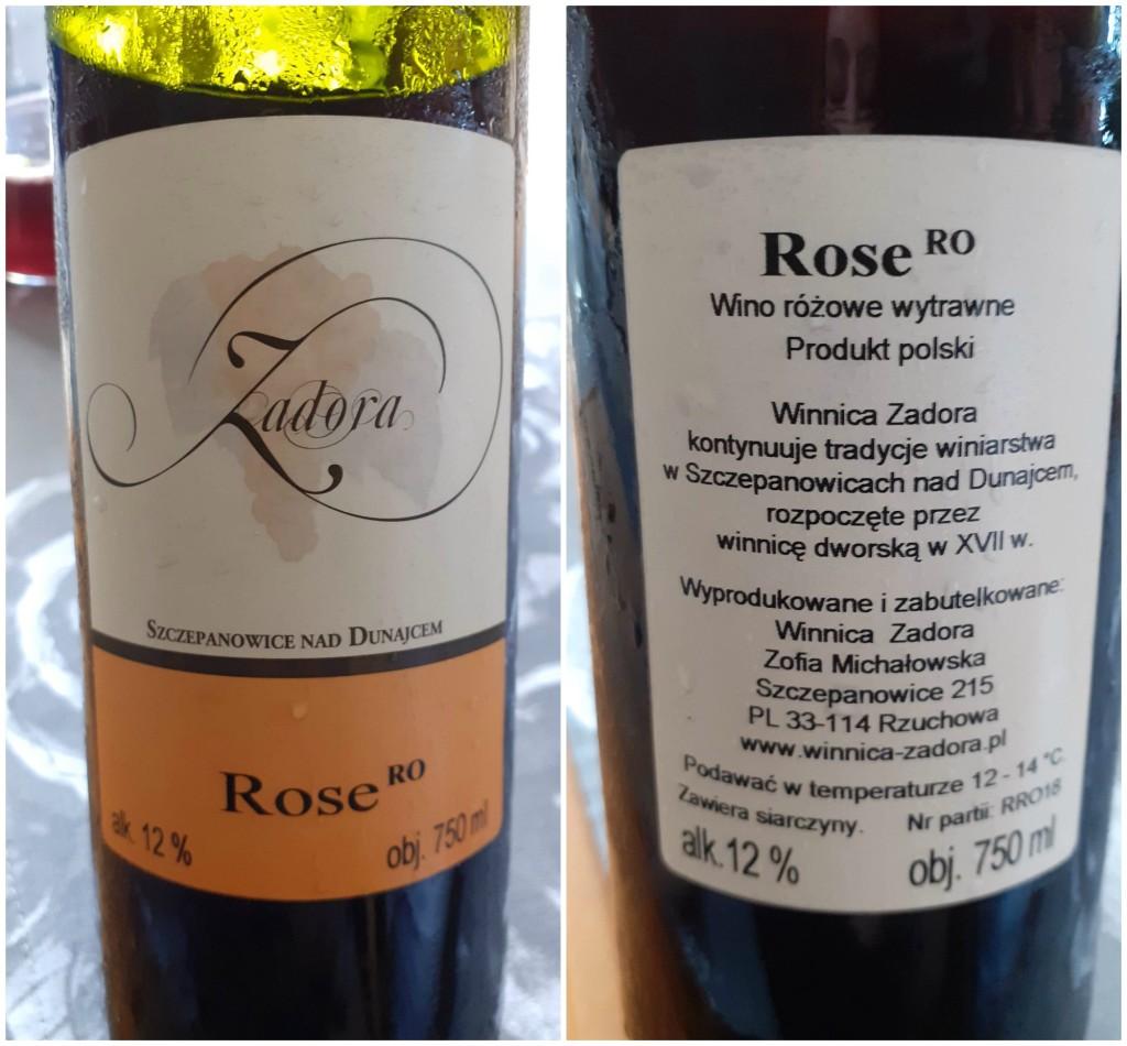 winnica zadora rose