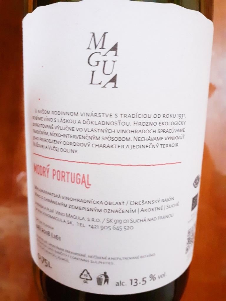 modry portugal