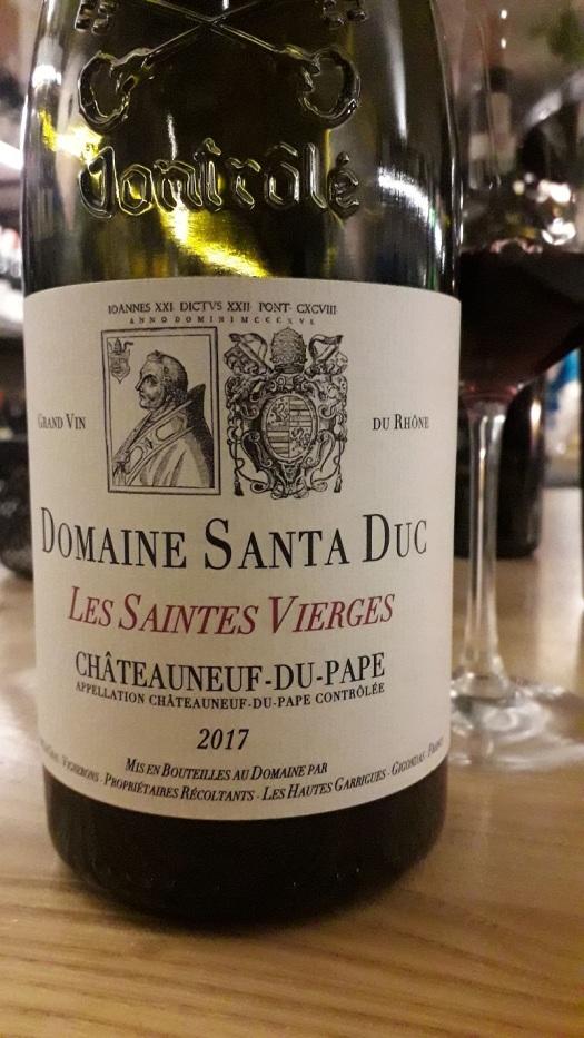 domaine santa dux chateauneuf-du-pape