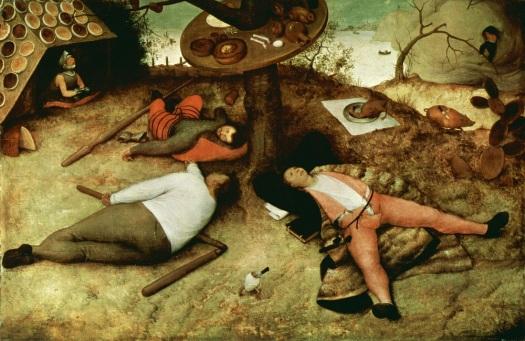 Pieter Bruegel Starszy, Kraina szczęśliwości, 1567
