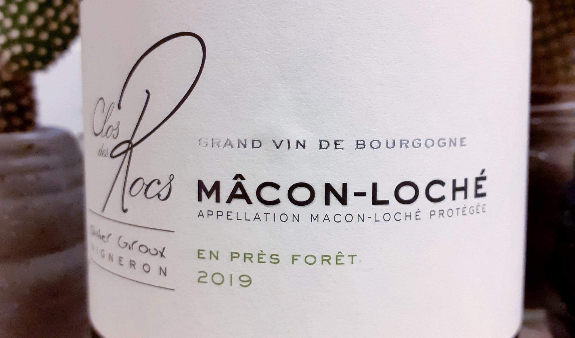 Clos de Rocs En Près Forêt Mâcon-Loché AOP 2019