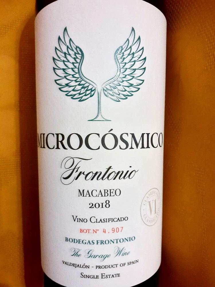 Bodegas Frontonio Microcósmico