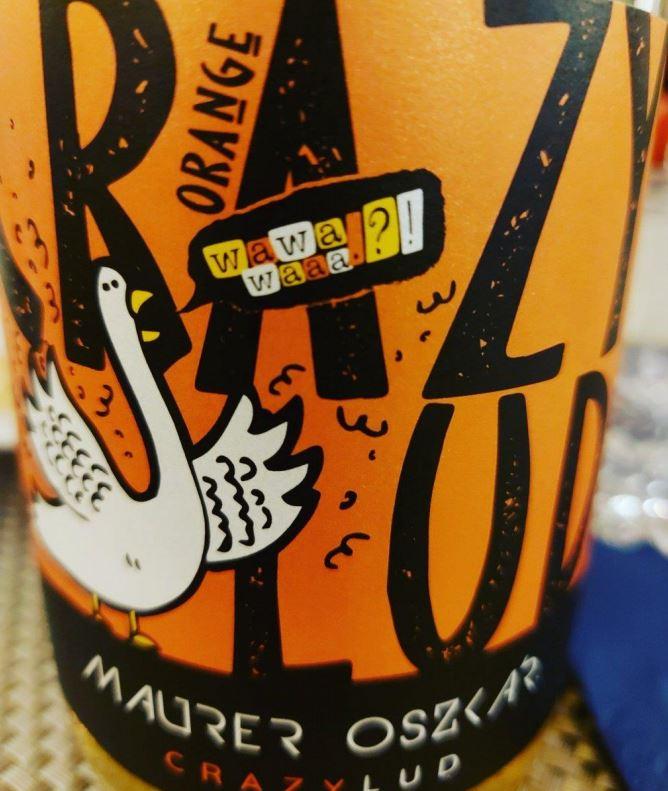 Crazy Lud Orange 2018